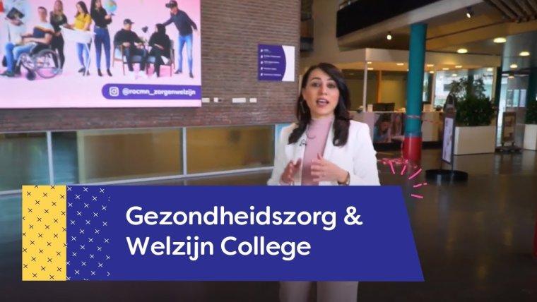 YouTube video - Rondleiding Gezondheidszorg  College Utrecht