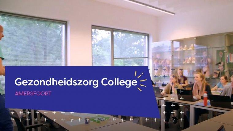 YouTube video - Gezondheidszorg College in Amersfoort