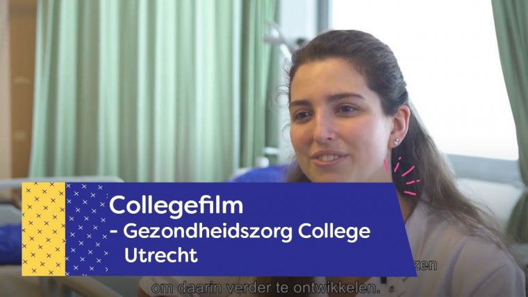 YouTube video - Gezondheidszorg College in Utrecht